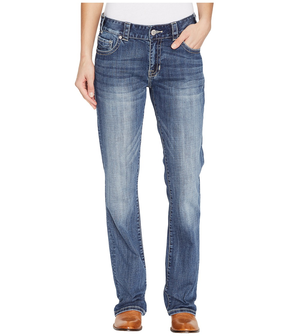 Rock and Roll Cowgirl - Boyfriend Fit in Medium Vintage W2-1388 (Medium Vintage) Women's Jeans