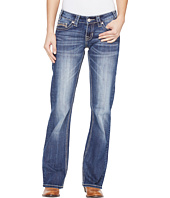 Rock and Roll Cowgirl - Riding Bootcut in Medium Wash W7-1393