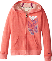 Roxy Kids - Fleece Hoodie with Butterfly Print (Little Kids/Big Kids)