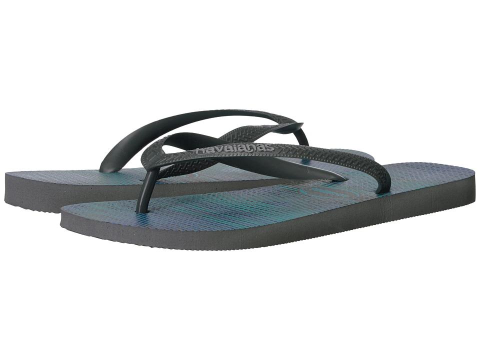 Havaianas Trend Flip Flops (Steel Grey/Grey) Men