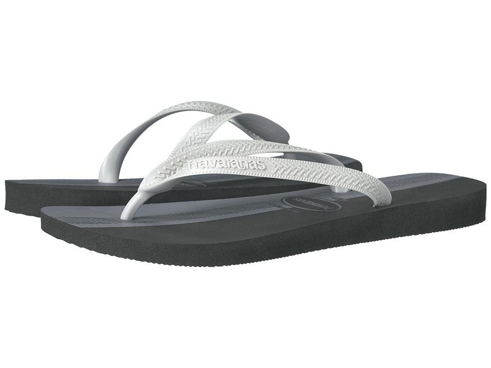 Havaianas Top Conceitos Flip-Flops (Black/Ice Grey) Men