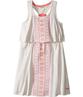 Roxy Kids - Slub Jersey Dress w/ Embroidery (Little Kids/Big Kids)