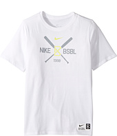 Nike Kids - Dry Crossed Bats Short Sleeve Tee (Little Kids/Big Kids)