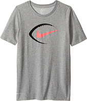 Nike Kids - Dry Football Icon Short Sleeve Tee (Little Kids/Big Kids)