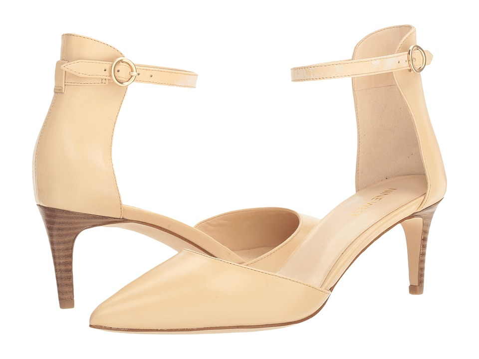 Nine West - Sharmila (Light Natural Leather) Womens Shoes
