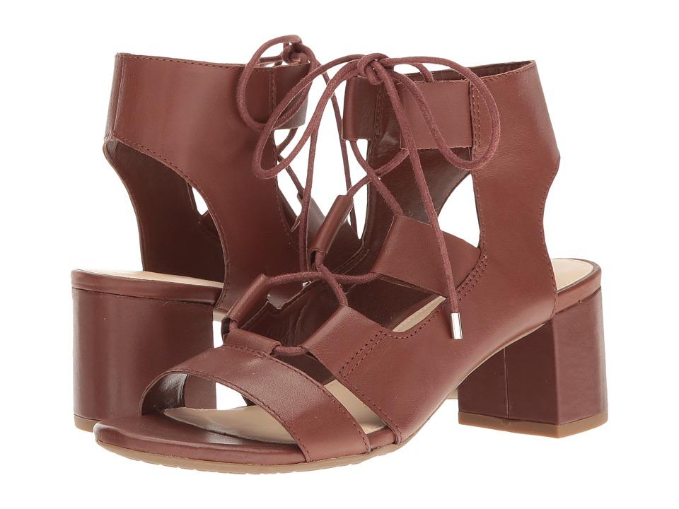 Nine West - Serrah (Cognac Leather) Womens Shoes