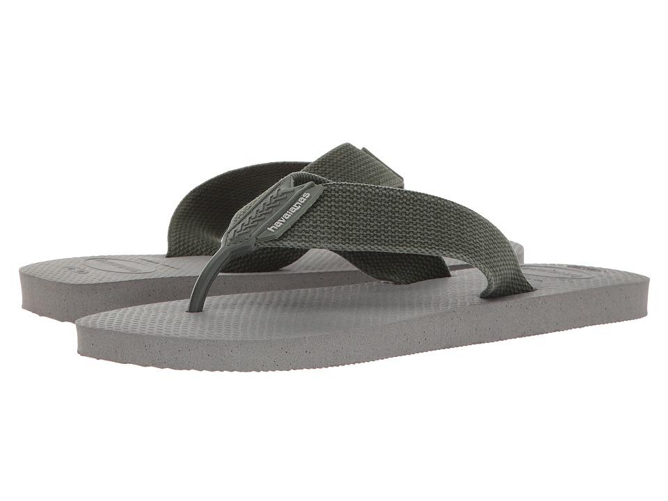 Havaianas Urban Basic Flip Flops (Steel Grey) Men