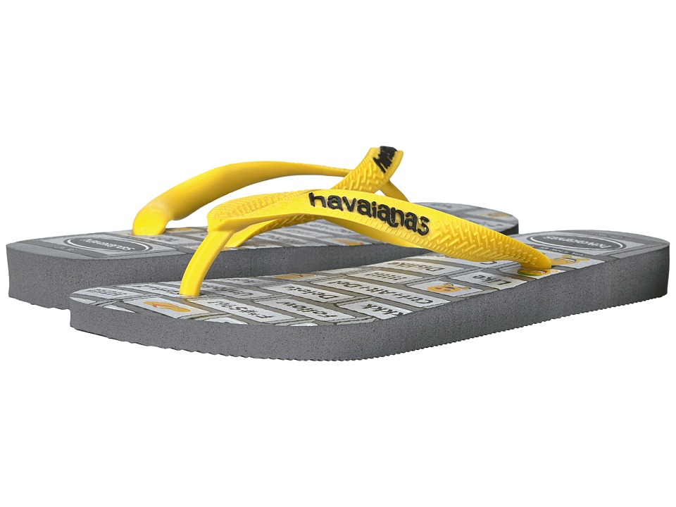 Havaianas Mood Flip-Flops (Grey/Yellow) Women