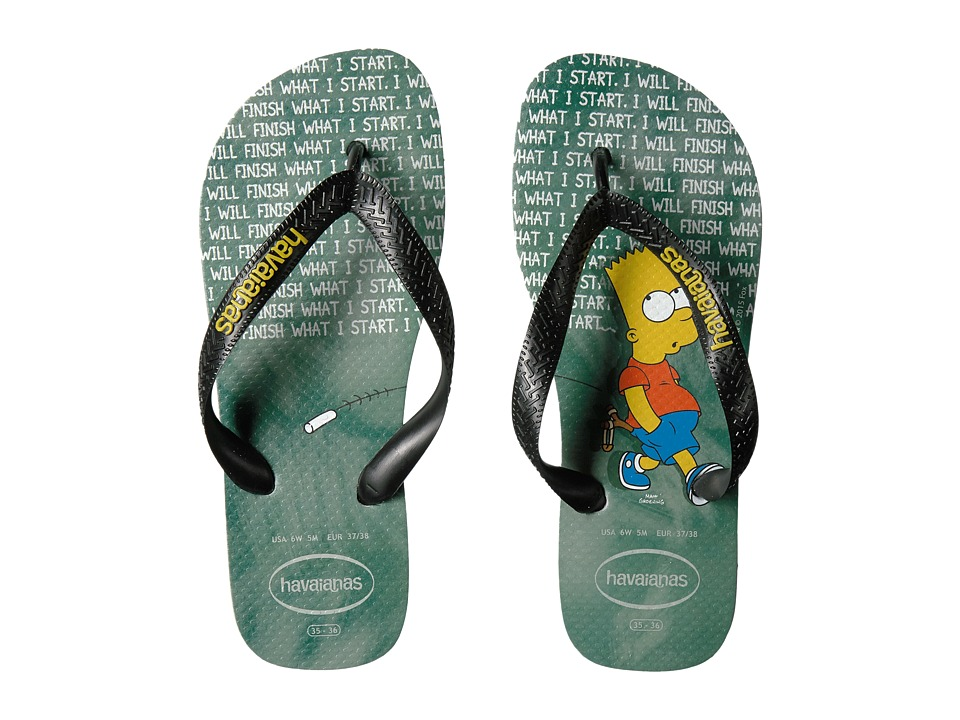 Havaianas Simpsons Flip-Flops (Ice Grey) Women