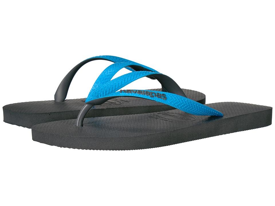 Havaianas Top Mix Flip Flops (Grey/Turquoise) Men