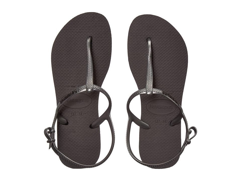 Havaianas - Freedom SL Flip-Flops (Black) Womens Sandals