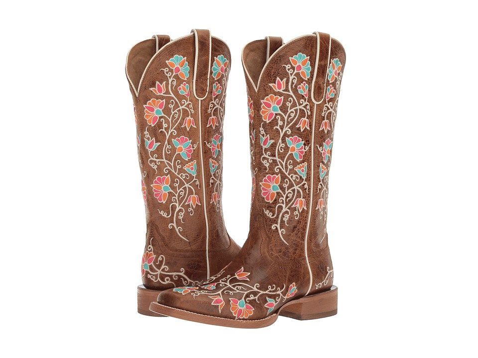 Ariat Carmelita (Bite the Dust Brown) Cowboy Boots