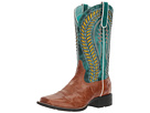 Quickdraw Venttek (Gingersnap/Turquoise) Cowboy Boots