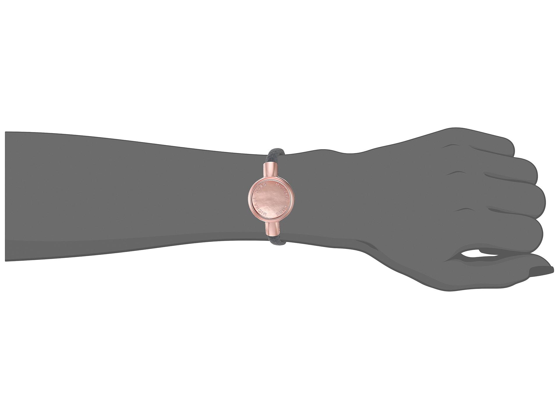 michael kors silicone tracker bracelet rose gold 2. Black Bedroom Furniture Sets. Home Design Ideas