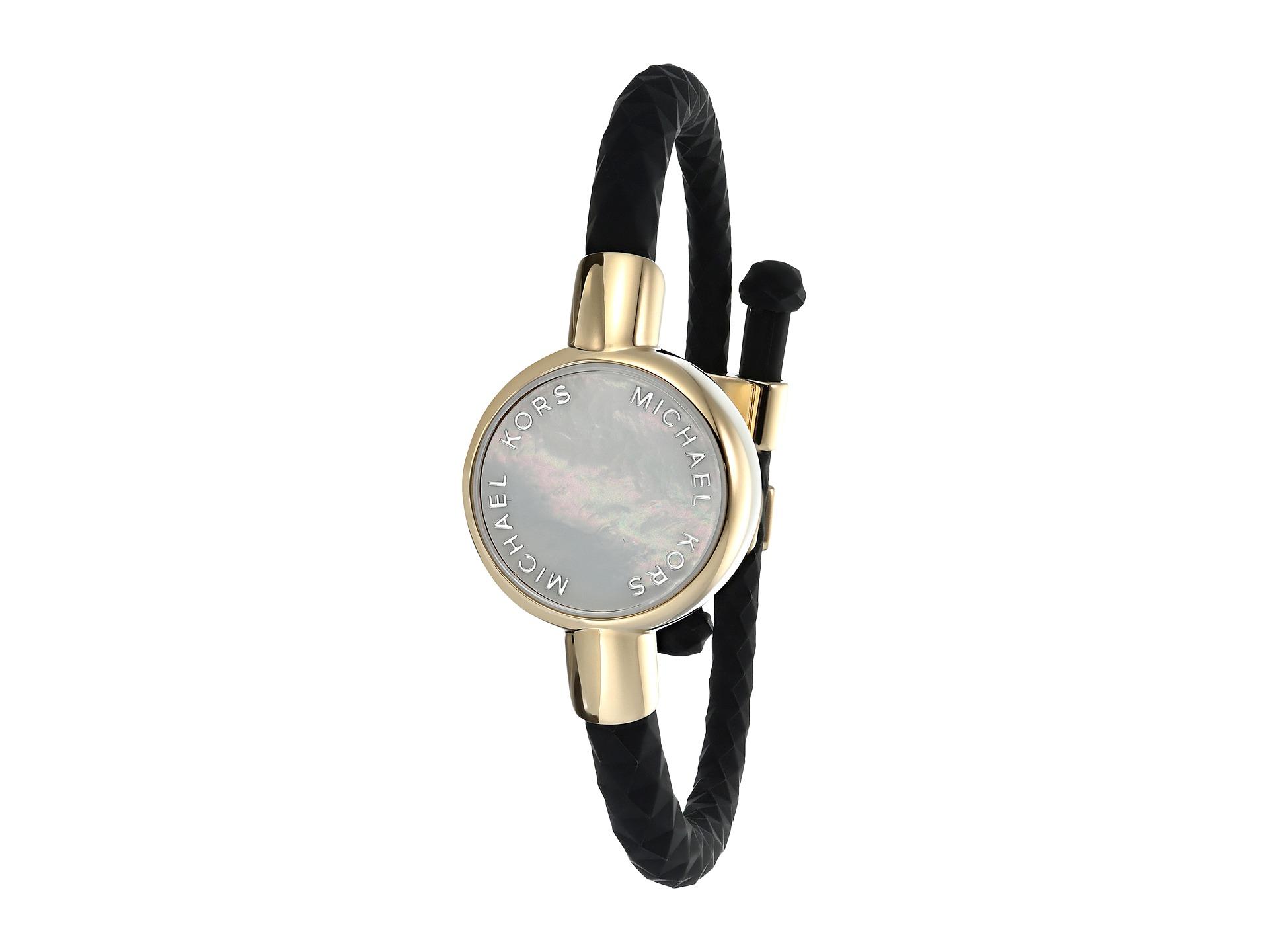 michael kors silicone tracker bracelet gold. Black Bedroom Furniture Sets. Home Design Ideas