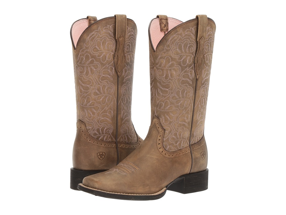 Ariat Round Up Remuda (Brown Bomber) Cowboy Boots