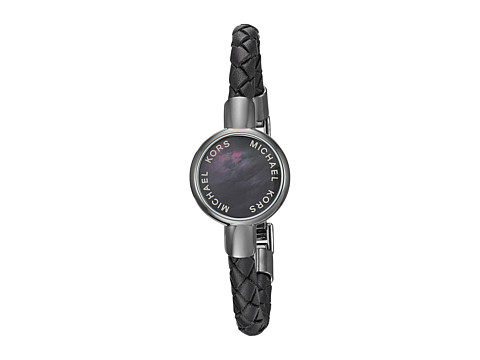 Michael Kors Access Leather Tracker Bracelet