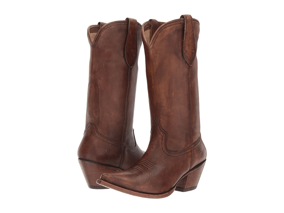 Ariat Josefina (Naturally Distressed Brown) Cowboy Boots