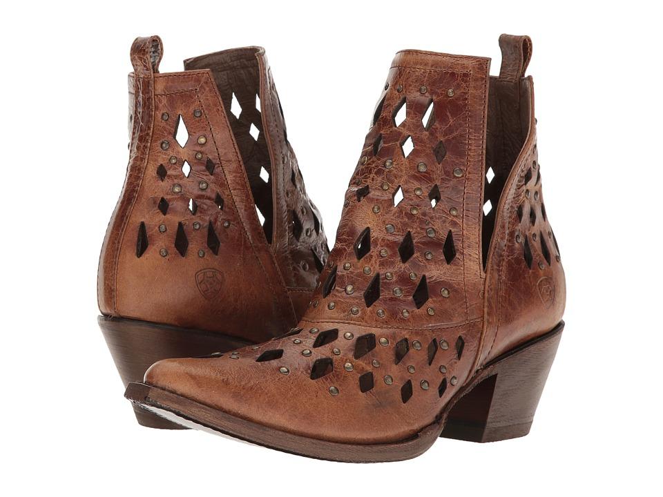 Ariat Chiquita (Tan) Cowboy Boots