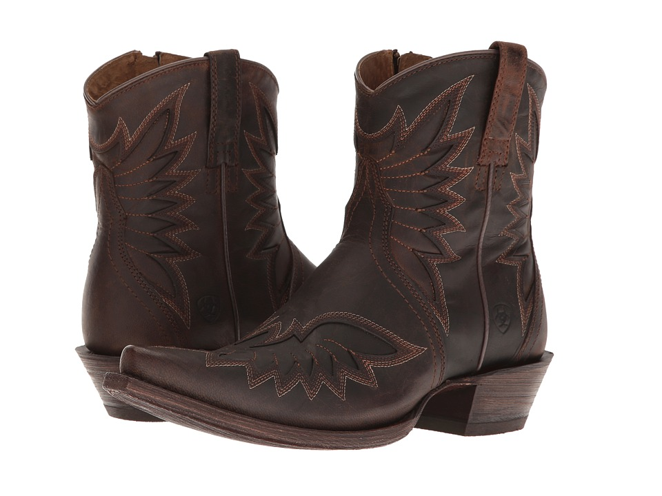 Ariat Santos (Weathered Brown) Cowboy Boots