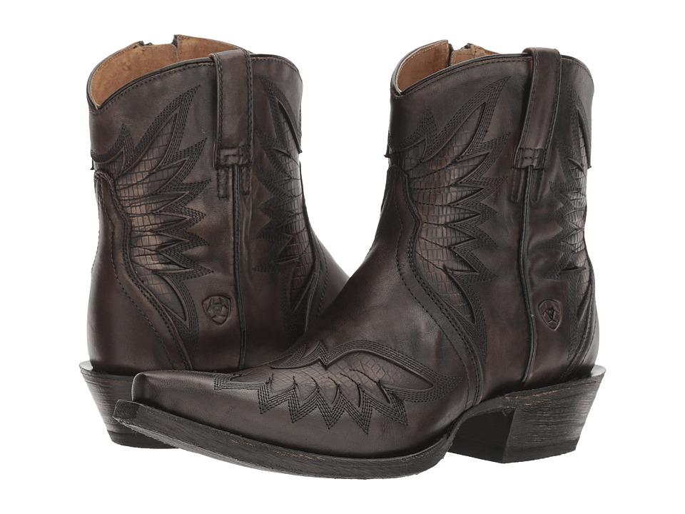 Ariat Santos (Naturally Charcoal) Cowboy Boots
