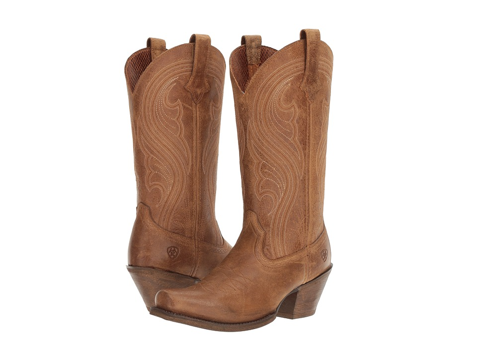 Ariat Lively (Old West Brown) Cowboy Boots