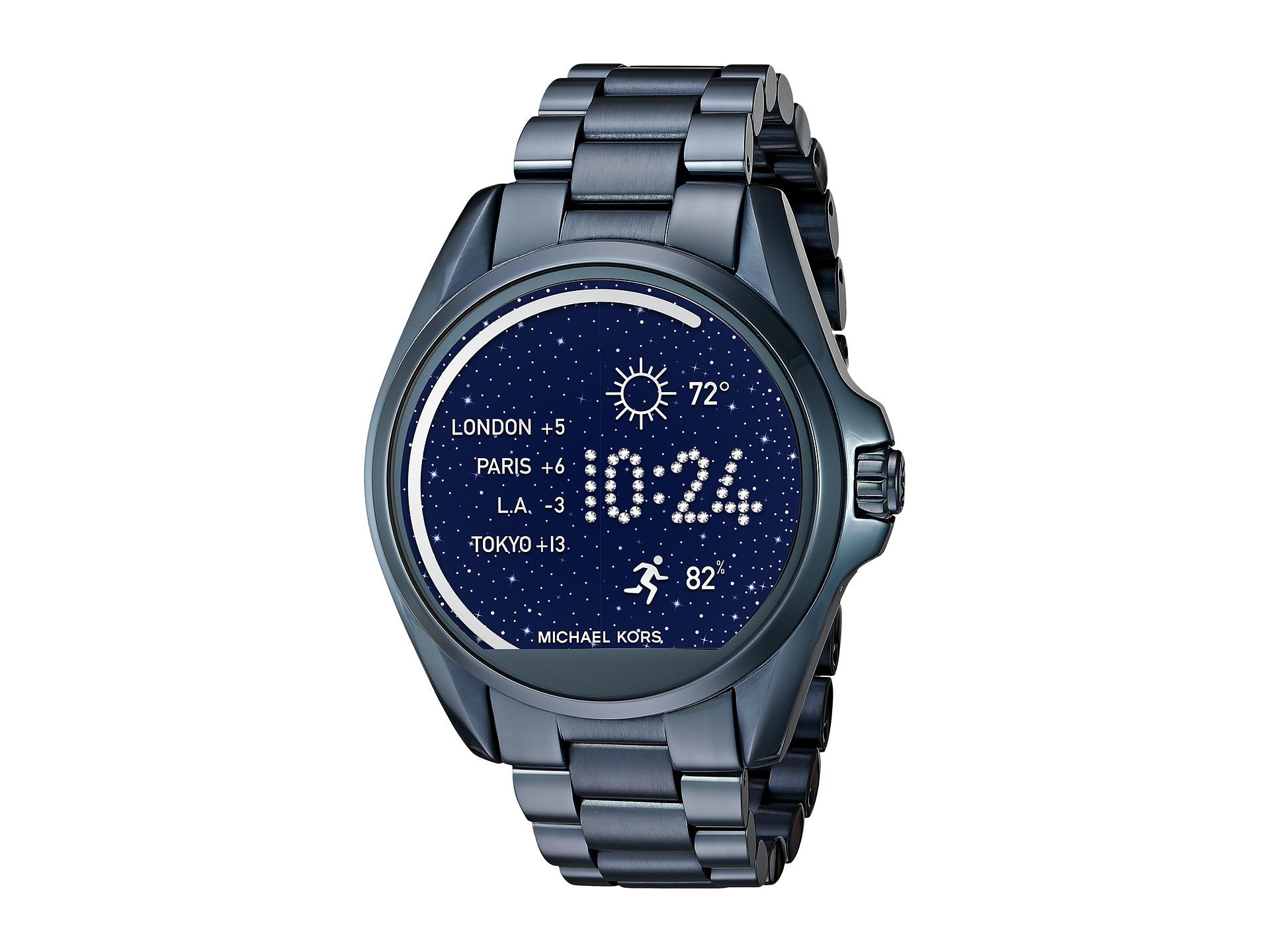 michael kors access bradshaw display smartwatch mkt5006 at. Black Bedroom Furniture Sets. Home Design Ideas