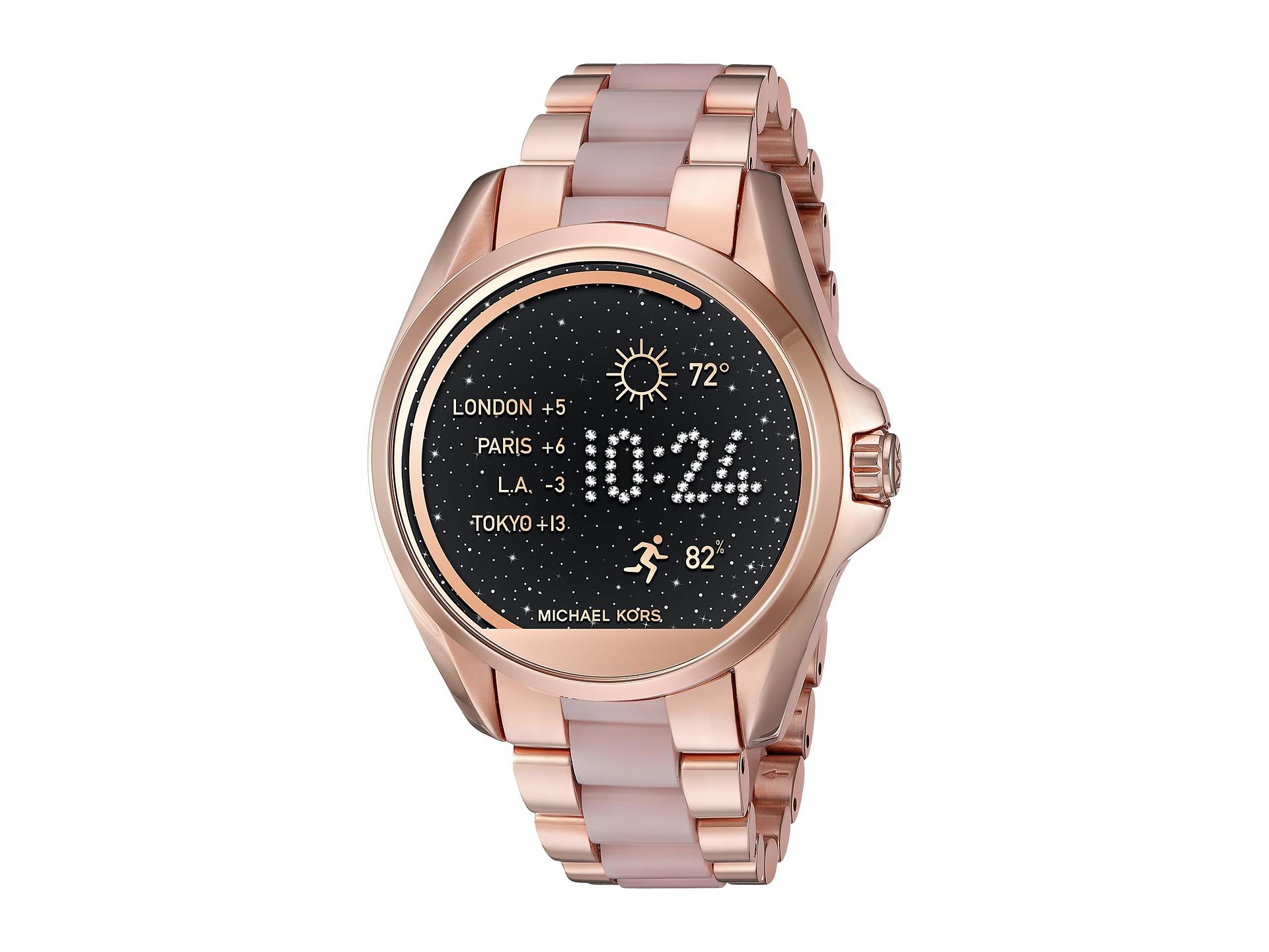 michael kors access bradshaw display smartwatch mkt5013 free shipping both ways. Black Bedroom Furniture Sets. Home Design Ideas