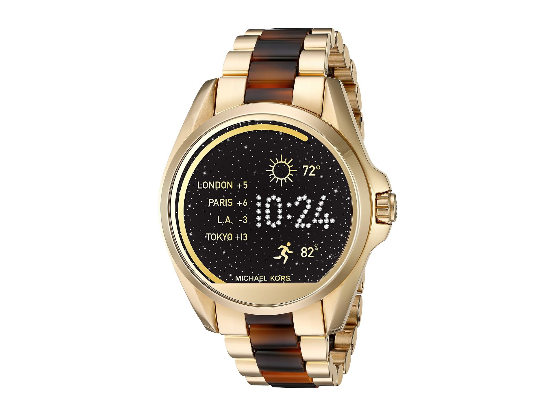 michael kors access bradshaw display smartwatch mkt5003 at. Black Bedroom Furniture Sets. Home Design Ideas