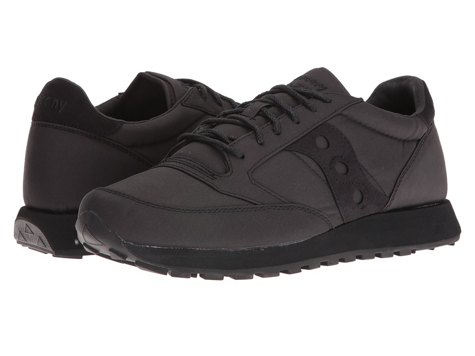 Saucony Originals - Jazz O Mono (Black) Mens Classic Shoes