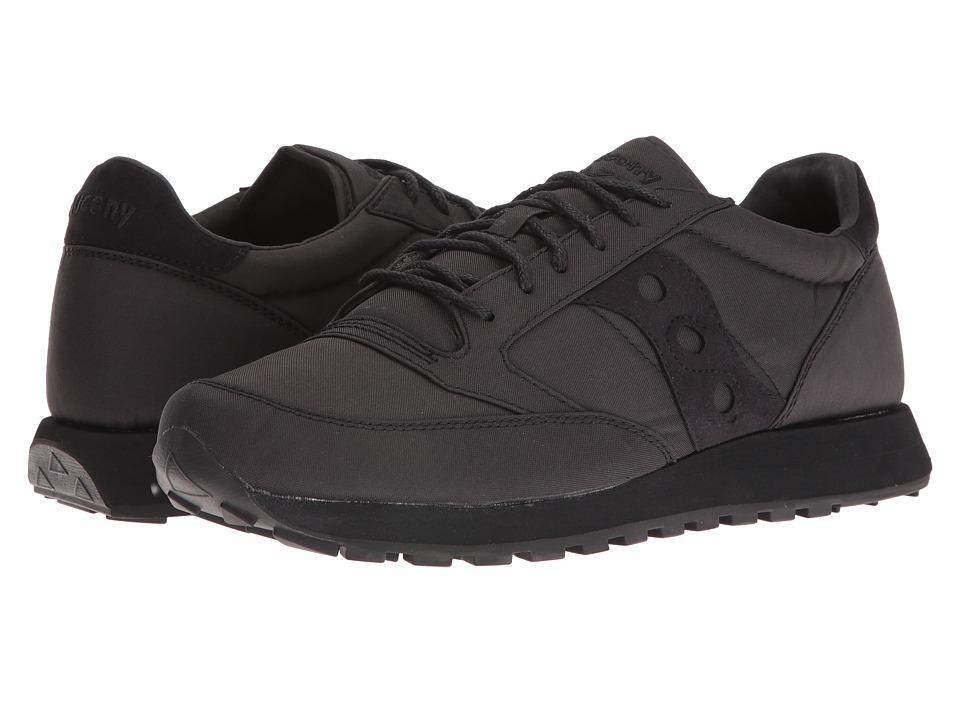 Saucony Originals - Jazz O Mono (Black) Mens Classic Shoes