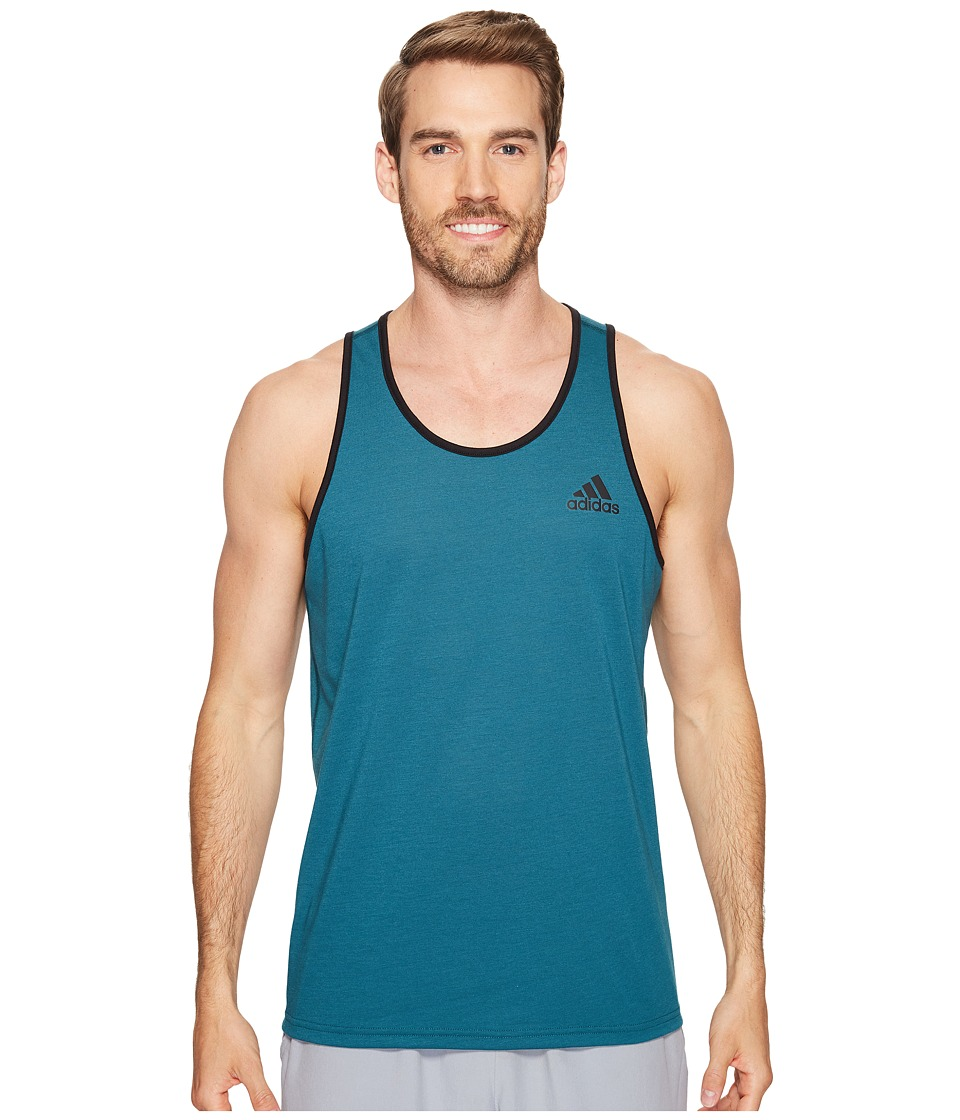 adidas Ultimate Tank Top (Mystery Green) Men