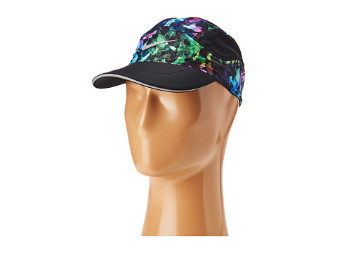 Nike Aerobill Elite Swoosh Cap - Black/Green Pulse