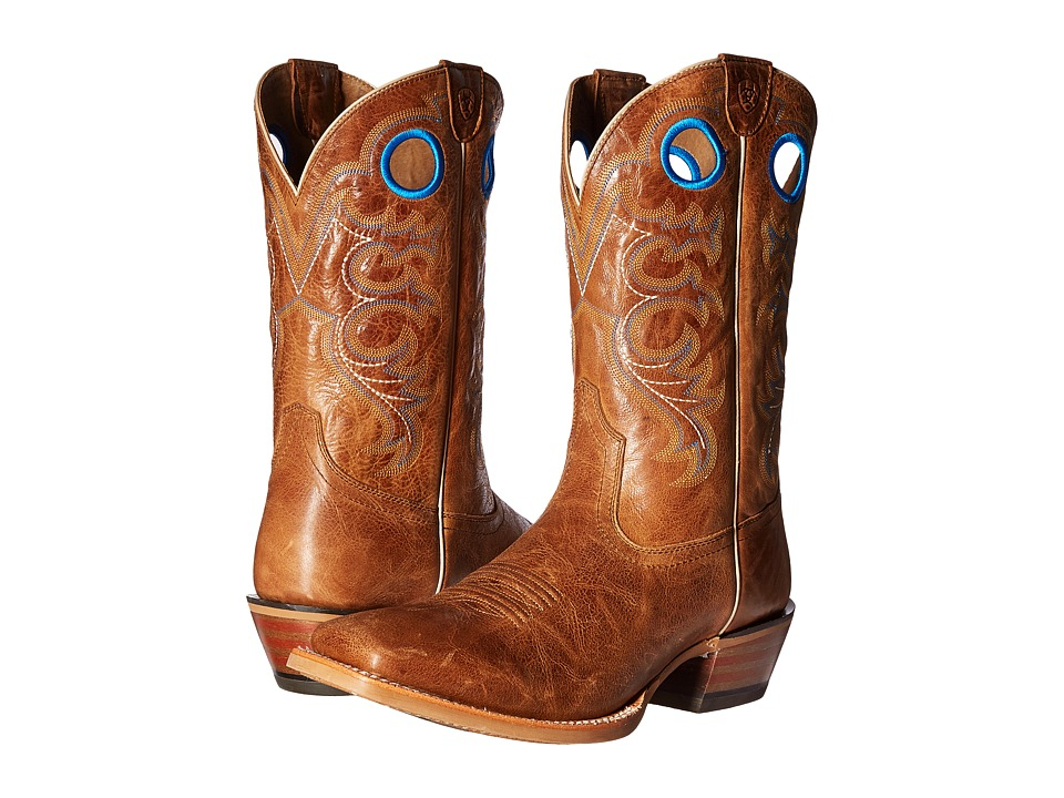 Ariat Crossfire (Bite the Dust Brown) Cowboy Boots