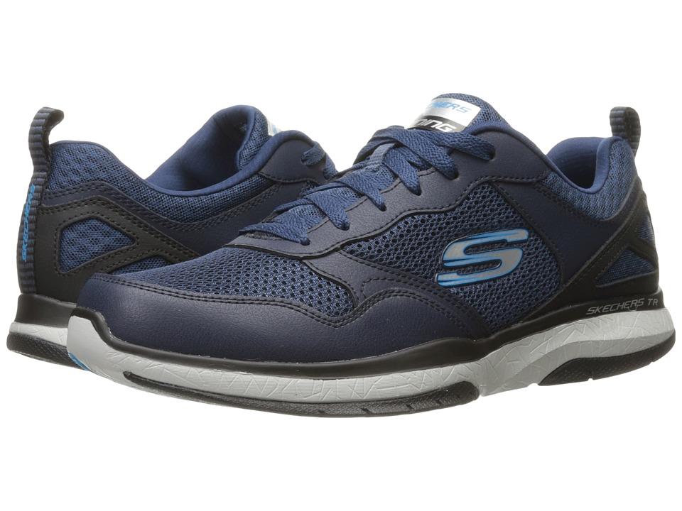 SKECHERS - Burst TR Halpert (Navy/Blue) Mens Shoes
