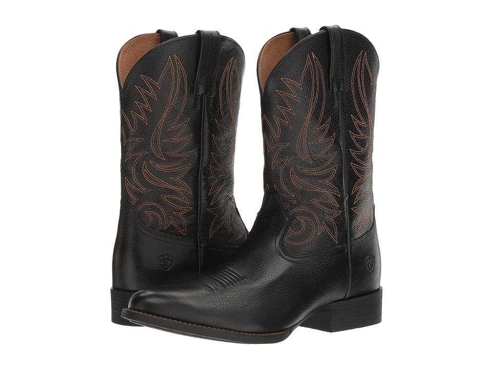 Ariat Heritage Hickok (Blaze Black) Cowboy Boots