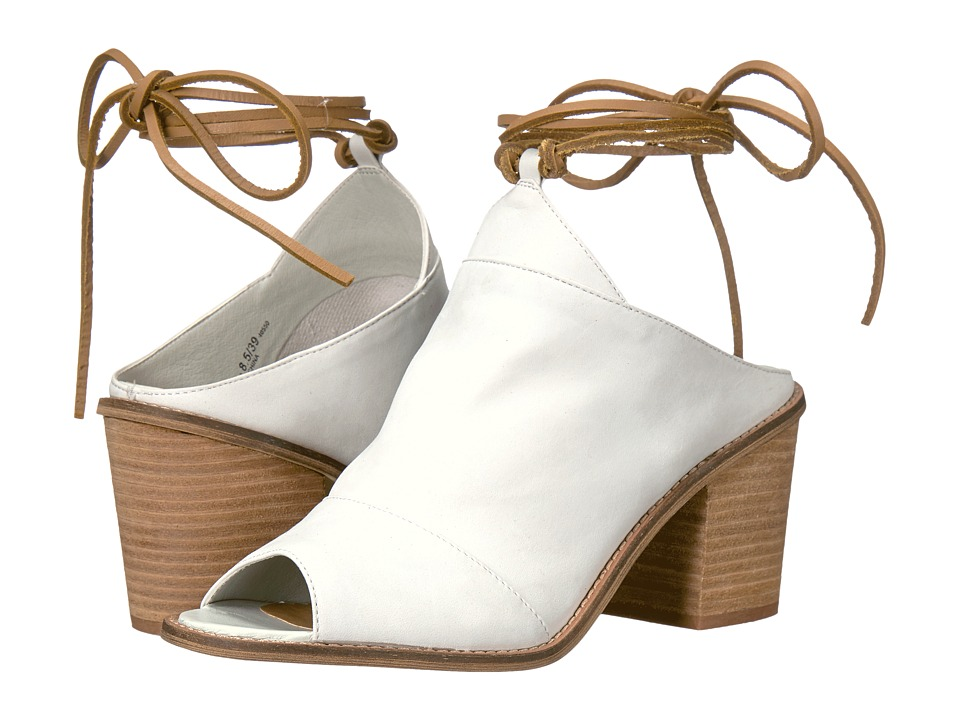 Chinese Laundry Cali (White Leather) High Heels