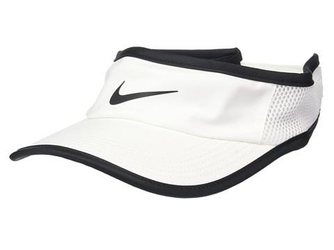Nike Aerobill Featherlight Visor - White/Black/Black