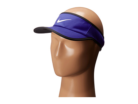 Nike Aerobill Featherlight Visor - Paramount Blue/Black/White