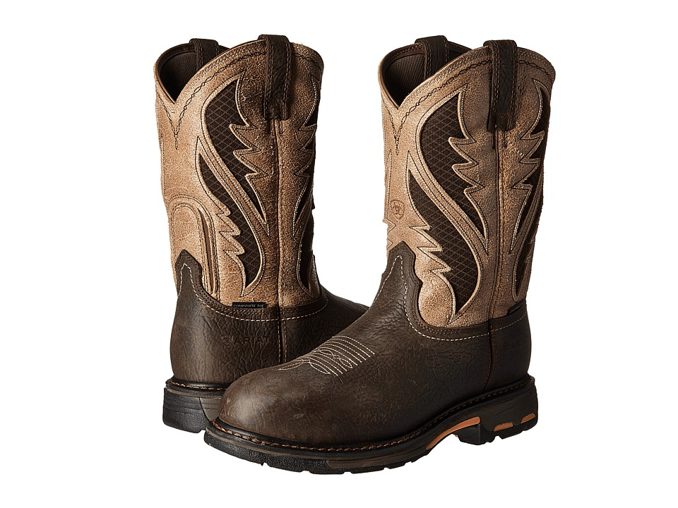 Ariat Workhog Venttek CT (Bruin Brown/Stone) Men