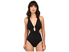 LAUREN Ralph Lauren - Beach Club Solid Cut Away One-Piece