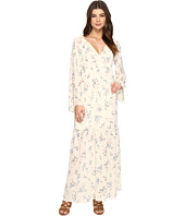 Brigitte Bailey - Jody Long Sleeve Floral Print Maxi Dress