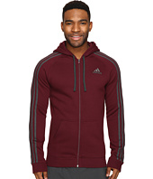 adidas - Essential Cotton Fleece Full Zip Hoodie