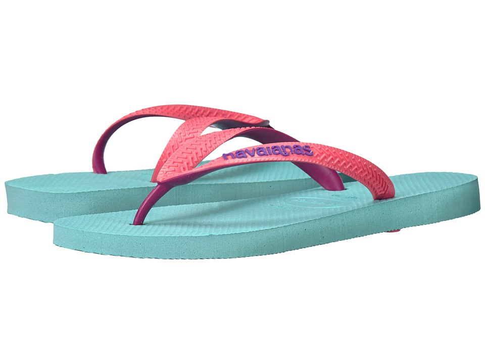 Havaianas Top Mix Flip Flops (Ice Blue) Women