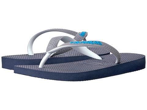 Havaianas Top Mix Flip Flops - Navy Blue/Steel Grey