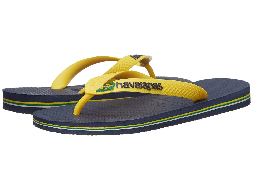 Havaianas - Brazil Logo Flip Flops (Citrus Yellow 1) Womens Sandals