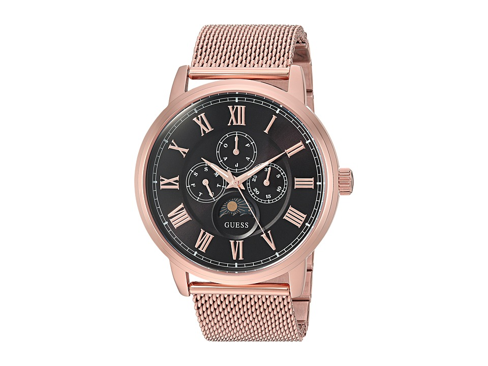 Guess U0871G5 (Rose Gold/Brown) Watches