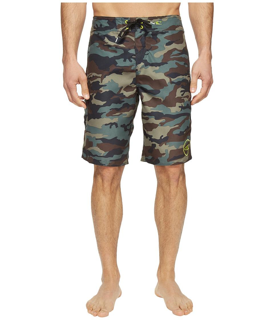 O'Neill Santa Cruz Printed Boardshorts (Camo) Men's Swimwear