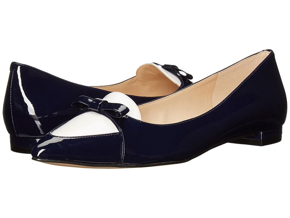 Nine West Anemone 3 (Navy/White Patent) Women