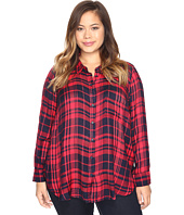 Lucky Brand - Plus Size Back Overlay Shirt